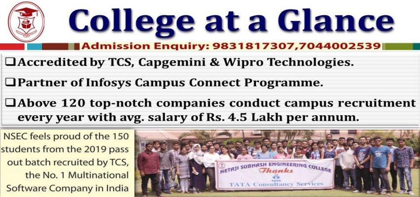 Netaji Subhash Engineering College :: - NSEC ::